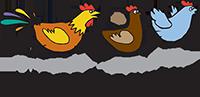 De Kippenrenners